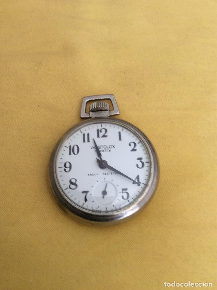 WESTCLOX SCOTTY RELOJ DE BOLSILLO SHOCK RESISTANT (Relojes - Bolsillo Carga Manual)