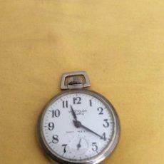 Relojes de bolsillo: WESTCLOX SCOTTY RELOJ DE BOLSILLO SHOCK RESISTANT. Lote 214924352