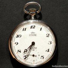 Relojes de bolsillo: ANTIGUO RELOJ DE BOLSILLO SUIZO LUYPE LEPINE AUTOMATICO 17 RUBIS INCABLOC. Lote 215046036