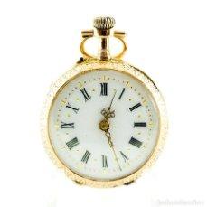 Relojes de bolsillo: RELOJ SUIZO DE BOLSILLO-COLGAR, LEPINE Y REMONTOIR. SUIZA. CA. 1900. ORO TRICOLOR DE 18K.. Lote 215557483