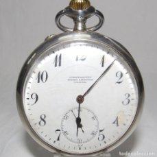 Relojes de bolsillo: INTERNATIONAL WATCH COMPANY. RELOJ DE BOLSILLO PARA CABALLERO. PLATA. LEPINE Y REMONTOIR. CA. 1912-1. Lote 215561516