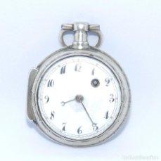 Relojes de bolsillo: L. CHOPARD (REF. BAILLIE, PÁG. 58). RELOJ DE BOLSILLO. PLATA. COLGAR, LEPINE, VERGE FUSEE (CATALINO). Lote 215562458