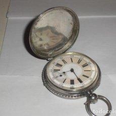 Relojes de bolsillo: RELOJ ANTIGUO DE BOLSILLO -ROBERT ROSKELL - 1860. Lote 216833975