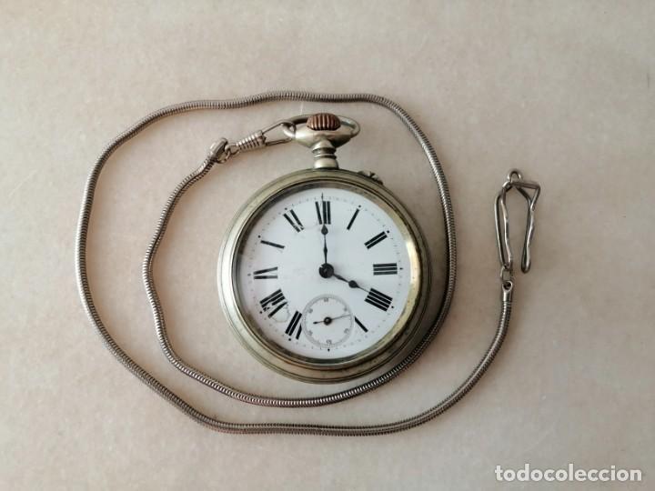 RELOJ DE BOLSILLO. 15 RUBÍS (Relojes - Bolsillo Carga Manual)