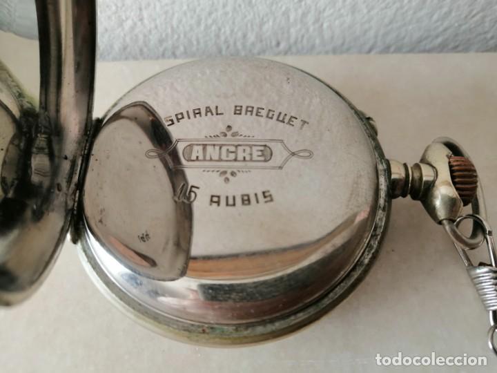 Relojes de bolsillo: RELOJ DE BOLSILLO. 15 RUBÍS - Foto 2 - 216847036