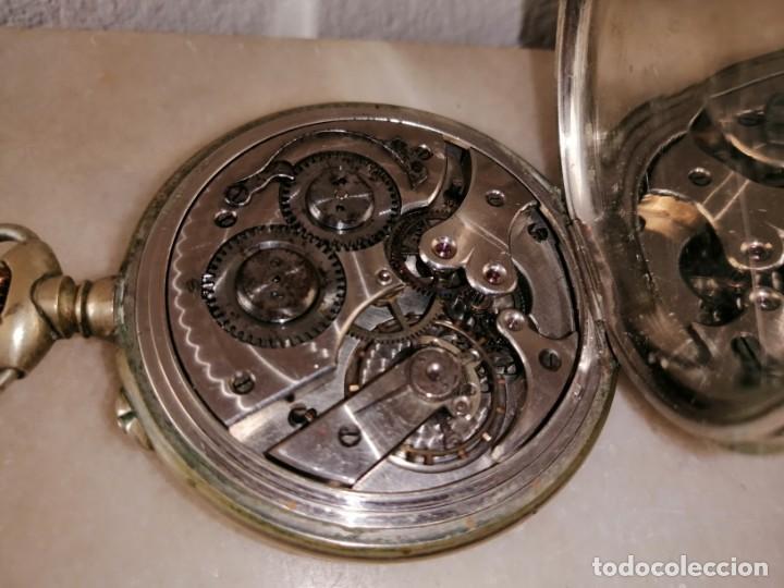 Relojes de bolsillo: RELOJ DE BOLSILLO. 15 RUBÍS - Foto 3 - 216847036