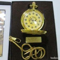 "Relojes de bolsillo: RELOJ MECÁNICO DE BOLSILLO MODELO ""DANDY"" - NUEVO EN EMBALAJE ORIGINAL. VER FOTOS. Lote 217011826"