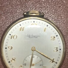 Relógios de bolso: RELOJ DE BOLSILLO JULES JÜRGENSEN 17 JEWELS. Lote 217221270