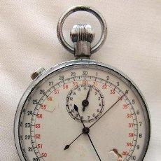 Relojes de bolsillo: RELOJ CRONOMETRO ANTIGUO DE BOLSILLO RATRAPANTE RATTRAPANTE. Lote 217272868
