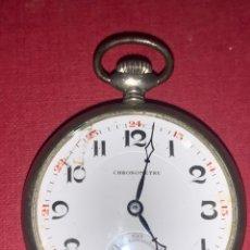 Relojes de bolsillo: PRECIOSO RELOJ DE BOLSILLO ART DECÓ CHRONOMETRE. FUNCIONA PERFECTAMENTE. Lote 217325365