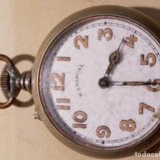 Relojes de bolsillo: RELOJ BOLSILLO MARISCAL PARA REPARAR O RESTAURAR PIEZAS DESMONTADAS PERO COMPLETO. Lote 217742531