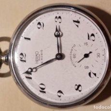 Relojes de bolsillo: RELOJ BOLSILLO HERMO PARA REPARAR O RESTAURAR SAETA ROTA. Lote 217743661