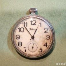 Orologi da taschino: ANTIGUO RELOJ DE BOLSILLO JUBAR, 18 RUBIS. USSR.. Lote 217745251