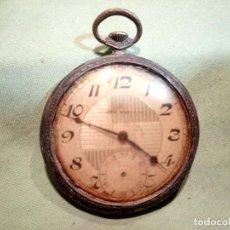 Orologi da taschino: ANTIGUO RELOJ DE BOLSILLO CONTY WATCH, PLATA. Lote 217755332