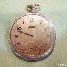 Orologi da taschino: ANTIGUO RELOJ DE BOLSILLO, CHAPADO EN ORO. Lote 217819096