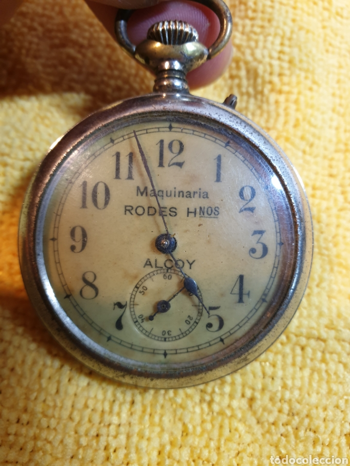 ANTIGUO RELOJ BOLSILLO CARGA MANUAL (Relojes - Bolsillo Carga Manual)