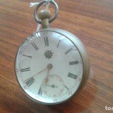 Relojes de bolsillo: RELOJ DE BOLSILLO DE CRISTAL DE SOBREMESA. Lote 218101570