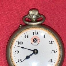 Relojes de bolsillo: ANTIGUO RELOJ DE BOLSILLO A. ROSSKOPF PATENT. FUNCIONA PERFECTAMENTE. Lote 218103426