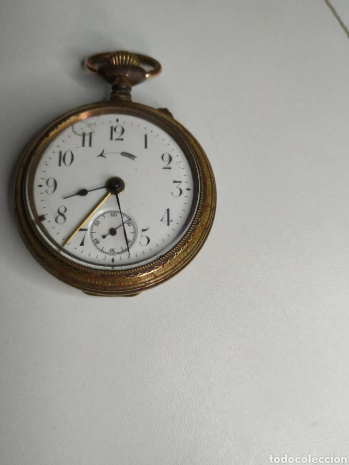 Relojes de bolsillo: Precioso reloj de bolsillo DISPERTADOR o con soneria - Foto 6 - 218192717
