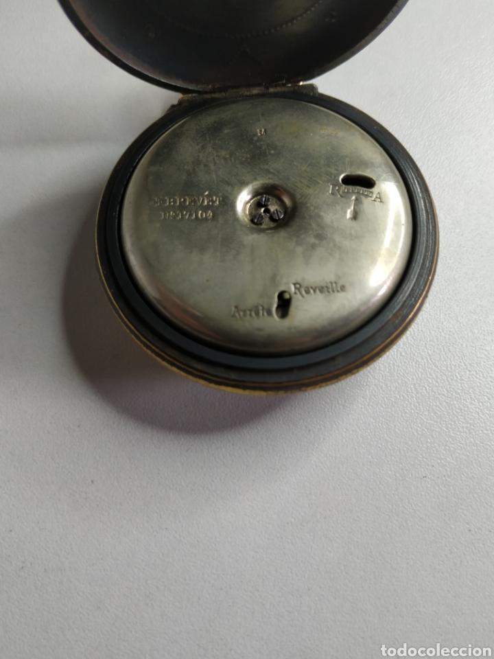 Relojes de bolsillo: Precioso reloj de bolsillo DISPERTADOR o con soneria - Foto 8 - 218192717