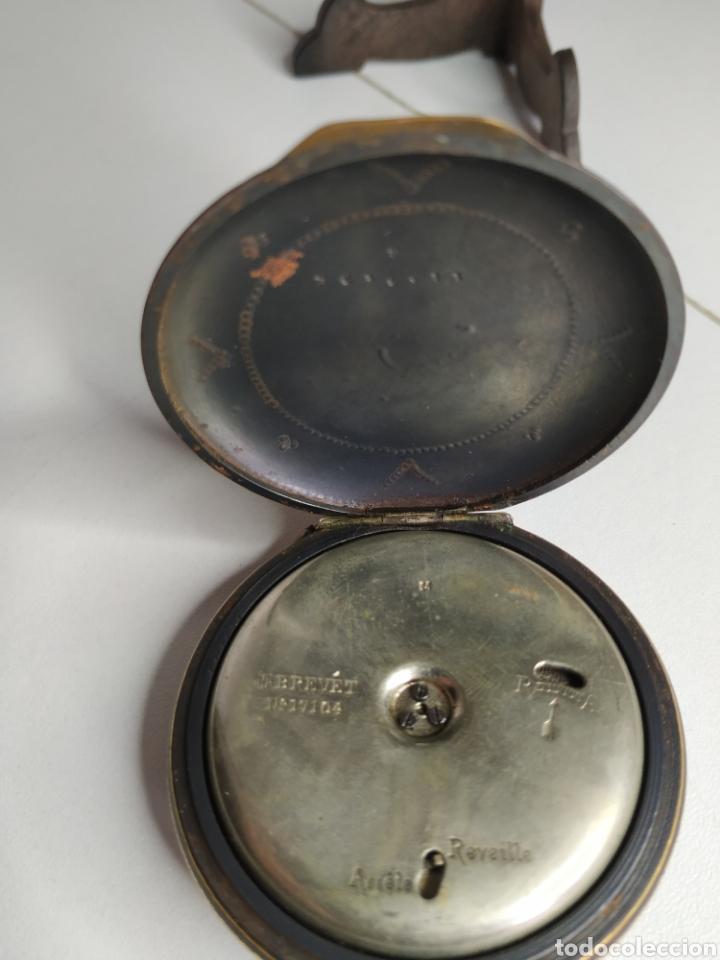 Relojes de bolsillo: Precioso reloj de bolsillo DISPERTADOR o con soneria - Foto 9 - 218192717