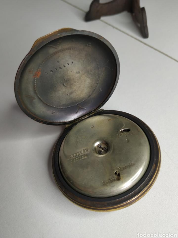 Relojes de bolsillo: Precioso reloj de bolsillo DISPERTADOR o con soneria - Foto 10 - 218192717