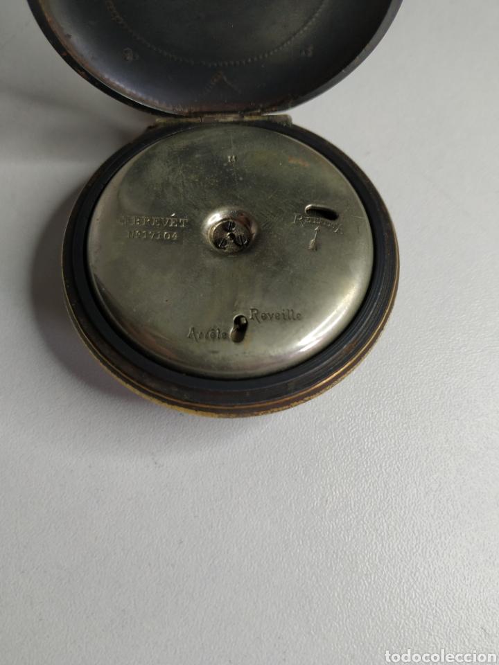 Relojes de bolsillo: Precioso reloj de bolsillo DISPERTADOR o con soneria - Foto 11 - 218192717