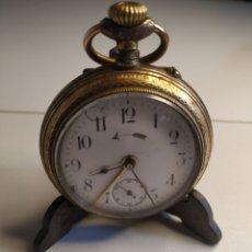 Relojes de bolsillo: PRECIOSO RELOJ DE BOLSILLO DISPERTADOR O CON SONERIA. Lote 218192717