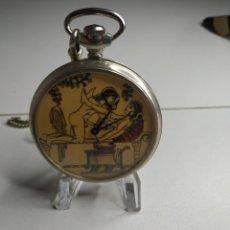 Relojes de bolsillo: RELOJ DE BOLSILLO ERÓTICO. Lote 218193661