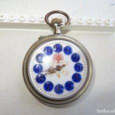 Relojes de bolsillo: RELOJ BOLSILLO VENCEDOR RARO POR MODELO Y MAS POR ESTADO IMPECABLE Y FUNCIONAMIENTO.BUEN PRECIO. Lote 218202243