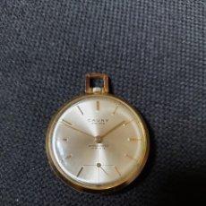 Relojes de bolsillo: RELOJ DE BOLSILLO CAUNY PRIMA. Lote 218209776