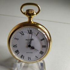 Relojes de bolsillo: RELOJ DE BOLSILLOACTION FUNCIONANDO. Lote 218277656