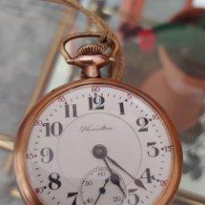 Relojes de bolsillo: RELOJ HAMILTON DE BOLSILLO. Lote 218425231