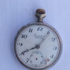Relojes de bolsillo: RELOJ ANTIGUO CORTEBERT.. Lote 218435576