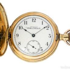 Relojes de bolsillo: ELEGANTE RELOJ DE BOLSILLO, DE LA MARCA WALTHAM, ORIGEN AMERICANO, DE CUERDA MANUAL Y FUNCIONANDO.. Lote 218534443