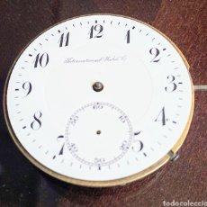 Orologi da taschino: MÁQUINA Y ESFERA IWC DE BOLSILLO. Lote 218724678