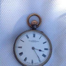 Relojes de bolsillo: RELOJ DE BOLSILLO EN ACERO. PPIOS S XX. Lote 219222640