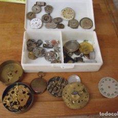 Relojes de bolsillo: MAQUINARIAS RELOJES PULSERA ANTIGUOS Y DE BOLSILLO- LOTE 310. Lote 219882335