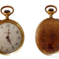 Relojes de bolsillo: RELOJ BOLSILLO SUIZO DE BRONCE CHRONOMETRE P.S.XX. Lote 220394510