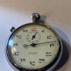 Relojes de bolsillo: CRONÓMETRO SALGAR ANTIMAGNETIC -FUNCIONANDO- MED.: 5 CMS. (G). Lote 220810416