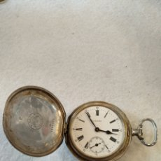 Relojes de bolsillo: RELOJ DE BOLSILLO LONGINES, 4 GRANDS PRIX, PLATA 900. NO FUNCIONA SE PARA.. Lote 220838210