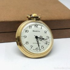 Relojes de bolsillo: RELOJ BEATRIZ DE BOLSILLO CARGA MANUAL - MEDIDA 4 CM.. Lote 221133035