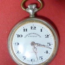 Relojes de bolsillo: ROSKOPF RELOJ DE BOLSILLO NO FUNCIONA. Lote 221171618