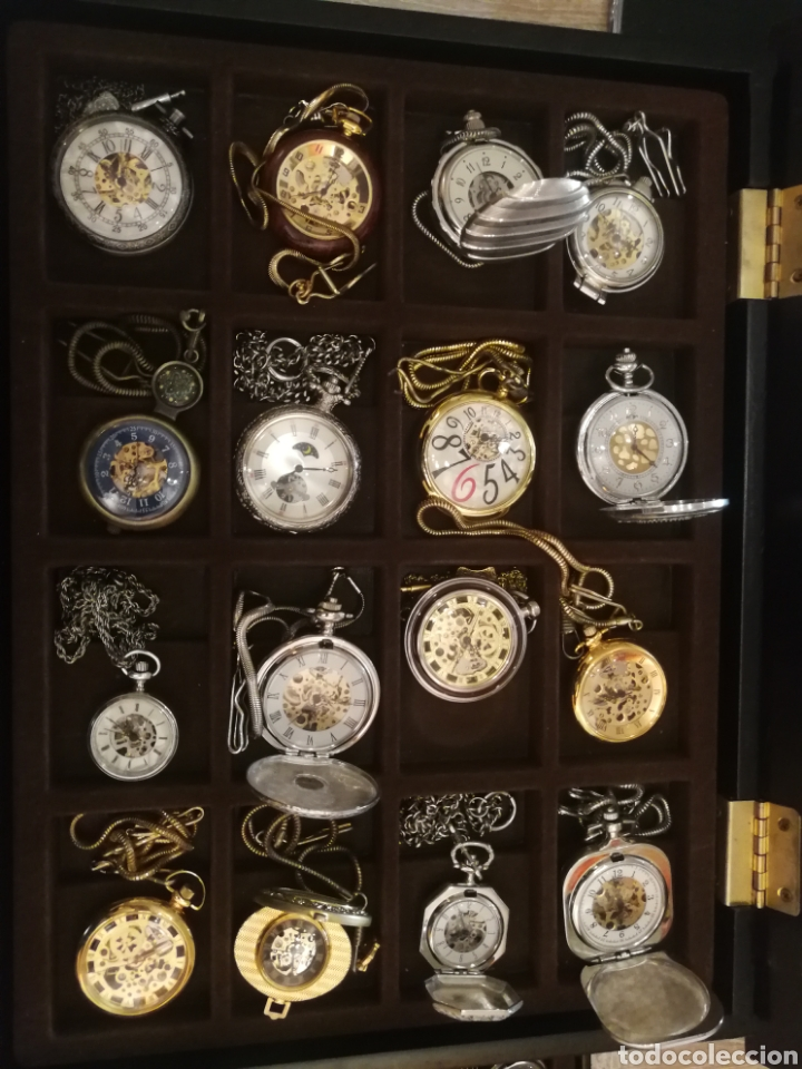 Relojes de bolsillo: COLECCION RELOJES DE BOLSILLO - Foto 2 - 221510645