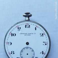 Relojes de bolsillo: CYMA TAVANNES WATCH COMPANY MECANICO MANUFACTURA 45MM PROYECTO RESTAURACION. Lote 221543672