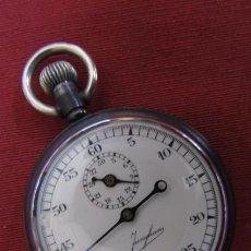 Relojes de bolsillo: ANTIGUO Y RARO CRONOMETRO MILITAR ALEMÁN II SEGUNDA GUERRA MUNDIAL III REICH USADO POR LA WEHRMACHT. Lote 221586773