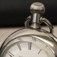 Relojes de bolsillo: GRAN RELOJ -- HAMPDEN WATCH CO. -- SPRINGFIELD, MASS 1880 -- 182 GRAMOS.. Lote 221589705