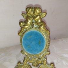 Relojes de bolsillo: ESPECTACULAR POSAR RELOJ DE BOLSILLO BRONCE FRANCIA SIGLO XIX. Lote 221729546