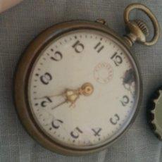 Relógios de bolso: RELOJ ANTIGUO DE BOLSILLO. MARCA CONFIANZA.. Lote 221750581