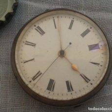 Relojes de bolsillo: RELOJ DE BOLSILLO ANTIGUO DE SEÑORA. TRES CAPAS. Lote 221867376